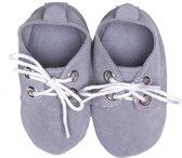 BabySteps slofjes Babyslofjes Oxford Grey medium