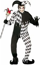 Halloween - Horror harlekijn kostuum voor heren M (48-50)