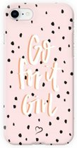 Fashionthings Go for it girl iPhone 7/8 Hoesje / Cover - Eco-friendly - Softcase