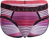 "Andrew Christian Heartbeat Brief Roze ondergoed maat S (29"" t/m 30"")"