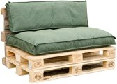 In The Mood Collection In The Mood Palletkussenset Porto Groen - 120cm x 80cm