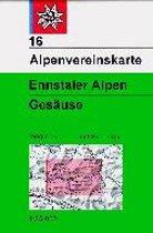 DAV Alpenvereinskarte 16 Ennstaler Alpen - Gesäuse 1 : 25 000