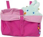 Snoozebaby - Toybag - speelgoedopbergtas - Funky Pink
