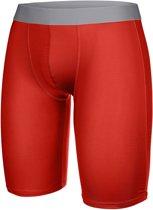Thermo onderbroek - Thermo sportbroek - Rood maat S