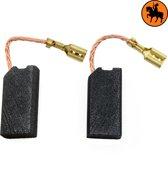 Koolborstelset voor Black & Decker frees/zaag GS1600 - 6,30x12,5x25mm
