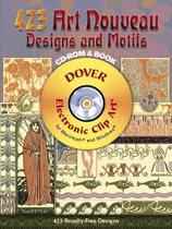 422 Art Nouveau Designs and Motifs