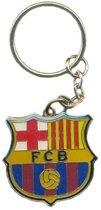 FC Barcelona Sleutelhanger - Zilver
