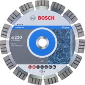 Bosch - Diamantdoorslijpschijf Best for Stone 230 x 22,23 x 2,4 x 15 mm
