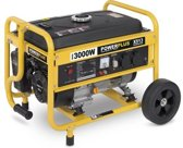 Powerplus POWX513 Generator - 3000 Watt - 208 cc cilinderinhoud