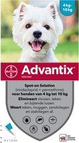 Bayer advantix spot on 100/500 4-10 kg - 4 pip