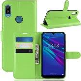 Huawei Y6 (2019) Hoesje - Book Case - Groen