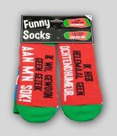 Paperdreams - Sokken - Funny socks - Ik heb helemaal geen ochtendhumeur