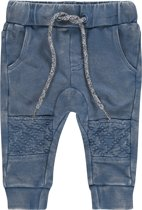 Noppies Jongens Broek sweat comfort Troutdale - Indigo blue - Maat 74