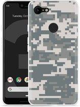 Google Pixel 3 XL Hoesje Army Digi Camouflage