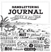 Omslag van 'Handlettering journal doe je zo!'