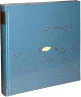 GOLDBUCH GOL-03022 Communie album Ichtys blauw als fotoboek, 25x25 cm