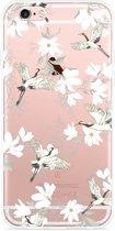 iPhone 6 Plus/6S Plus Hoesje White Bird