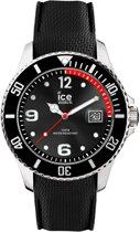 Ice-Watch Ice Steel IW015773 Horloge - Siliconen - Zwart - 44 mm