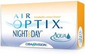 -4,50 Air Optix Night&Day Aqua - 6 pack - Maandlenzen - Contactlenzen