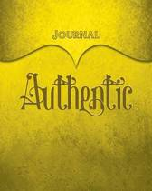 Authentic Journal
