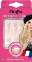 Fing'Rs French Girl Beauty - 24 stuks - Nepnagels