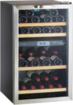 Climadiff CV41DZX - Wijnklimaatkast - 2 zones - 41 flessen
