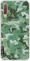 Casetastic Softcover Samsung Galaxy A7 (2018) - Army Camouflage