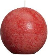 Bolsius Bolkaars Rustiek - Rood (per 6 stuks) - Ø 8 cm