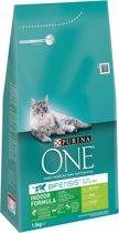 Purina ONE Indoor - Kalkoen - Kattenvoer - 3 x 1,5 kg