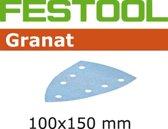 Festool Schuurstrook Granat delta 100 x 150mm P120 doos van 10 stroken