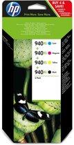 HP 940XL - Inkcartridge / Zwart / Magenta / Cyaan / Geel (C2N93AE)