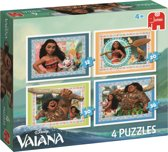 Disney Vaiana 4in1 Puzzle