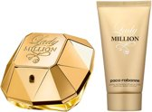 Paco Rabanne - Eau de parfum - Lady Million 50 ml eau de parfum + Bodylotion 75 ml - Gifts ml
