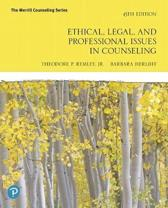 Ethical, Legal, and Professional Counseling Plus Mylab Counseling -- Access Card Package