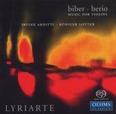 Lyriarte, Biber/Berio