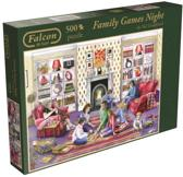 Falcon Familiy Games Night - Puzzel - 500 stukjes