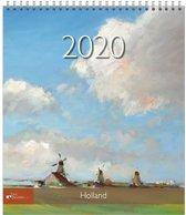 Kalender 2020 Holland Kunst (Art Revisited)