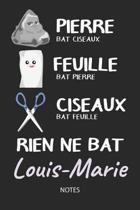 Rien ne bat Louis-Marie - Notes