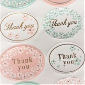 24- Thank You -Stickers -ovaal