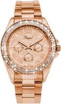 Regal Glitter Rose R1349R-622 - Horloge - Staal - Rosékleurig - Ø 37 mm