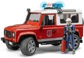 Bruder 02596 - Land Rover Defender Station Wagon brandweer - Speelset