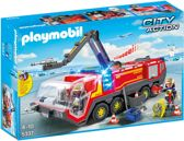 PLAYMOBIL Luchthavenbrandweer met licht en geluid- 5337