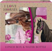 Animal Pictures Paard en Veulen - Set Lunchbox + Bidon - Multi