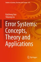Error Systems: Concepts, Theory and Applications