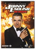 DVD cover van Johnny English Reborn