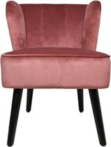 HSM Collection - Cocktail chair - velvet champagne
