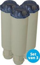 3X Scanpart waterfilter patroon schroefbaar Claris voor o.a. Bosch / Siemens / Krups F088 / Neff