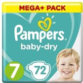 Pampers Baby-Dry - Maat 7 - 72 Stuks