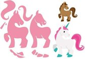 Marianne Design Collectables Eline's Paard en Eenhoorn