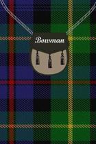 Bowman Clan Tartan Journal/Notebook